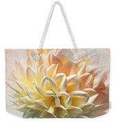 Dahlia Art Weekender Tote Bag