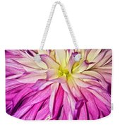 Dahlia Bursting With Color Weekender Tote Bag