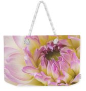 Dahlia Delight Square  Weekender Tote Bag