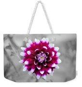 Dahlia Flower 2 Weekender Tote Bag