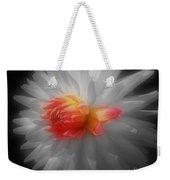 Dahlia Flower Beauty Weekender Tote Bag