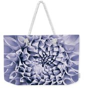 Dahlia Flower Star Burst Purple Weekender Tote Bag