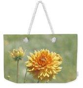 Dahlia Flowers Weekender Tote Bag