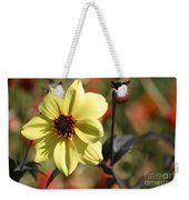 Dahlia Knockout Weekender Tote Bag