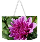 Dahlia Named Blue Bell Weekender Tote Bag