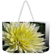 Dahlia Named Canary Fubuki Weekender Tote Bag
