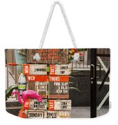 Daily Drinking Hole Weekender Tote Bag