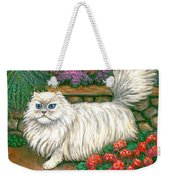 Dainty The Cat Weekender Tote Bag