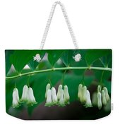 Dainty White Flowers Central Park Weekender Tote Bag