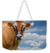 Dairy Cow  Bessy Weekender Tote Bag by Bob Orsillo