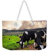 Dairy Cows At Sunset Weekender Tote Bag