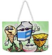 Dairy Food Group Weekender Tote Bag