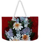 Daisies Lilacs And Forget Me Nots Weekender Tote Bag