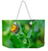 Daisy Bud Ready To Bloom Weekender Tote Bag