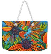 Daisy Chain Reaction Weekender Tote Bag