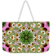 Daisy Daisy Do Kaleidoscope Weekender Tote Bag