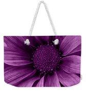 Daisy Daisy Grape Weekender Tote Bag