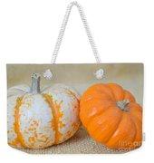 Daisy Gourd And Pumpkin Weekender Tote Bag