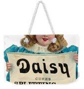 Daisy Headache Cure Weekender Tote Bag