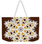 Daisy Mandala  12t Weekender Tote Bag