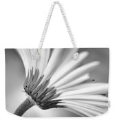 Daisy Noir Weekender Tote Bag by Christi Kraft