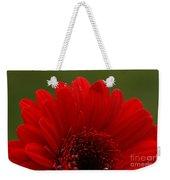 Daisy Red Weekender Tote Bag