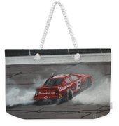 Dale Earnhardt Junior Victory Burnout Weekender Tote Bag