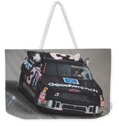 Dale Earnhardt Wins-wave To The Crowd Weekender Tote Bag