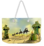 Dali On The Move  Weekender Tote Bag