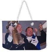 Dallas Cowboys 1992 National Football League Champions Weekender Tote Bag