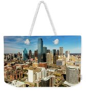 Dallas Skyline As Seen From Reunion Weekender Tote Bag