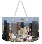 Dallas Skyline Weekender Tote Bag