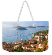 Dalmatian Coast Weekender Tote Bag