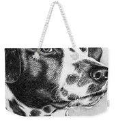 Dalmatian Portrait Weekender Tote Bag