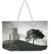 Dalmatian Stone Church On The Hill Weekender Tote Bag by Brch Photography