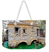 Dalmatian Village Traditional Stone Watermill Weekender Tote Bag