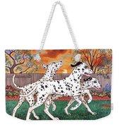 Dalmatians Three Weekender Tote Bag