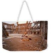 Damaged Building Weekender Tote Bag