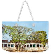 Damaged Colonial Buildings Weekender Tote Bag by Jess Kraft