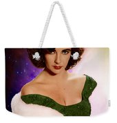 Dame Elizabeth Rosemond 'liz' Taylor - Featured In 'comfortable Art' Group Weekender Tote Bag