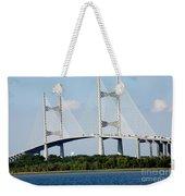 Dames Point Bridge Jacksonville Florida Weekender Tote Bag