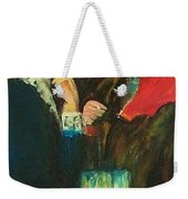 Dance At Bougival Close Up Weekender Tote Bag