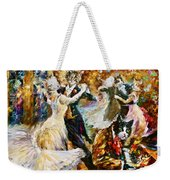 Dance Ball Of Cats  Weekender Tote Bag by Leonid Afremov