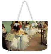 Dance Examination Weekender Tote Bag by Edgar Degas