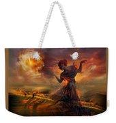Dance In The Fire Weekender Tote Bag