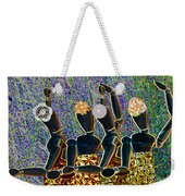 Dance Party Weekender Tote Bag