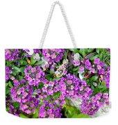 Dance Of Flowers Weekender Tote Bag