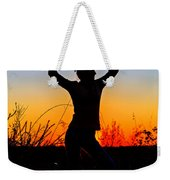 Dance Of Joy Weekender Tote Bag