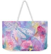 Dance Of The Dragonfly Weekender Tote Bag