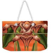 Dance Of The Orange Calla Lilies II Weekender Tote Bag